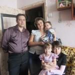 : Светлана Краснова с мужем Валерием и детьми