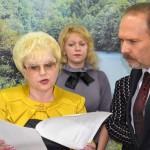 2011 год. Школу посетил тогдашний губернатор ивановской области М.А. Мень