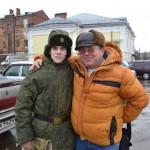С.Б.Гусев с сыном Иваном