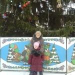 Екатерина Батанова с младшей дочкой Викой.