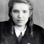 К.И.Суханова (Федорова). Нач. 1950-х гг.