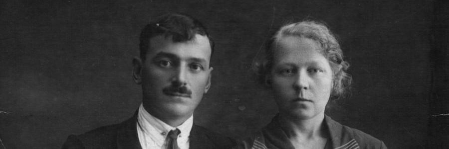 Смирнов Иван Павлович и его жена Глафира Федоровна. 1932 год. Фото из архива Горячева С.П.