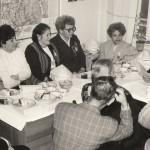 Профсоюзное собрание проводит редактор А.Ф. Щелков. 1987 г.