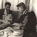 Чествование участника Великой Отечественной войны журналиста П.М. Делакова. 1983 г.