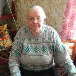 Ольга Сергеевна Балакина, урожденная Морохина. 2013 год