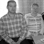 Нина Борисовна и Вячеслав Владимирович Скотниковы – дочь и внук Б.И. Цветкова. 2010 год.