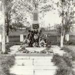 Братская могила в пос. Самофаловка Волгоградской области. 1976 год