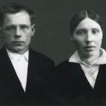 Петр Железов с женой Анной до войны