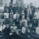 Ученики школы пос. Заволжье. Иван Данилов – в первом ряду справа. 1930-е гг.