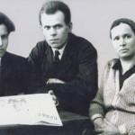 В.Н. Зайцев – в центре.