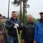 Участники экологического субботника.