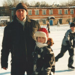 С.Л. Прусов с внучкой