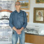 Руководитель Кинешемской студии стендового моделизма Владлен Кудрявцев