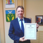 Исполняющий обязанности главы администрации Кинешемского района С.В.Герасимов.