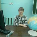 Учитель географии Д.Н.Смирнова.