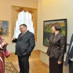 Губернатор П.А. Коньков принял участие в интерактивной программе «Кинешма купеческая», подготовленной сотрудниками художественно-исторического музея.