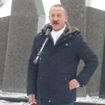 Выступает руководитель кинешемской организации ветеранов Афганистана Г.В. Калинин.