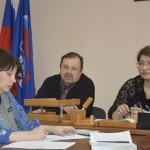 Заместитель главного врача А.Г.Протасов и главный врач Кинешемской ЦРБ И.Н.Григорян.