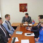 И.о. главы Кинешмы А.В.Пахолков на встрече с кинешемскими журналистами.
