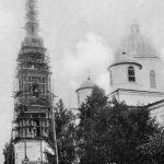 Ремонт колокольни кинешемского собора к юбилейным торжествам 1913 года.
