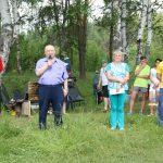 Участников праздника приветствует генеральный директор АО «Поликор» Б.А.Морозов.