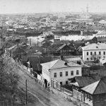 Кинешма. Вид из Заречья. Нач. ХХ века.