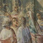 Остатки настенной росписи Златоустовского храма.