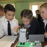 Учащиеся школы №1 создали проект робота-учителя.