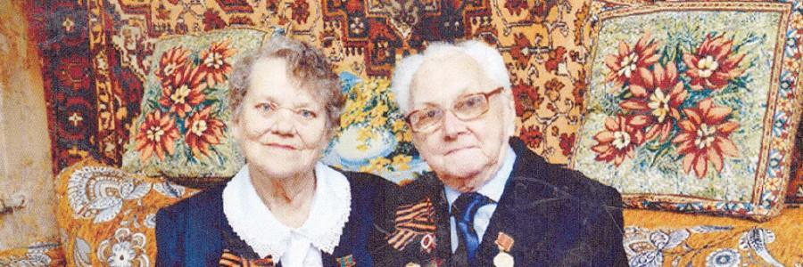 Николай Федорович и Муза Константиновна Крыловы всегда вместе.