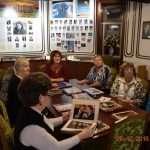 Участники пленума в музее истории МЦ «Решма».