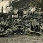 Офицеры 212-го полка в Германии. 1945 год.