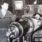 На таких станках изготовлялась первая продукция