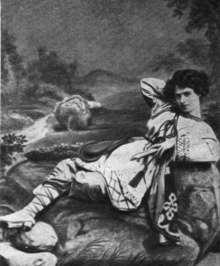 Евлалия Кадмина в роли Леля. 1870-е гг.