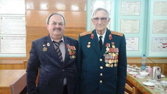 Среди награжденных - ветеран Вооруженных Сил Н.М.Майковский и ветеран Великой  Отечественной войны О.Г.Новиков.