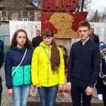 Участники поездки в Волгоград: Кирилл Тюмков, Ксения Малпилет, Вероника Фадеева, Иван Карпычев, Дарья Хабышева.