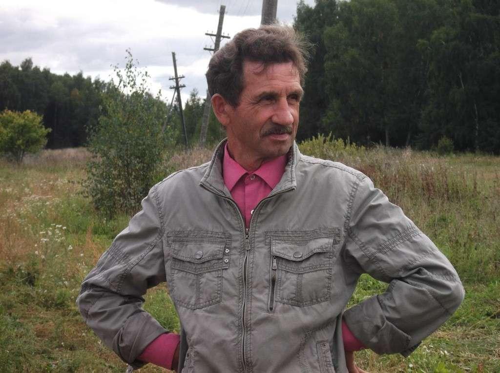 Фермер Сергей Волков
